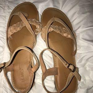 Tom's Sandals-NEVER WORN
